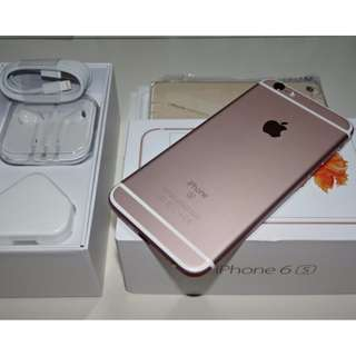 iPhone 6S 64GB Rose Gold / iPhone6S 64G 玫瑰金 (Ref:6SRG-64)