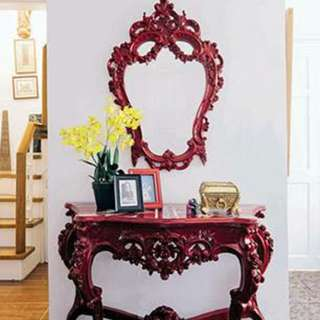 Frame with consul furniture