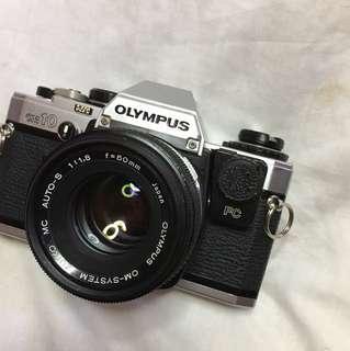 OLYMPUS OM10 & 50mm F1.8