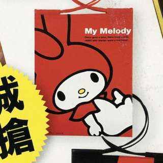 My Melody 誌上限定索袋 D款