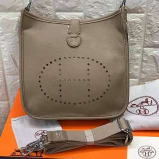 SALE!!! hermes evelyn