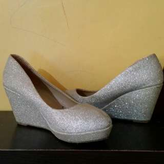 Venus Sparkling Wedge Shoes for Women