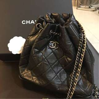 Chanel Gabrielle Backpack with Dual Chain