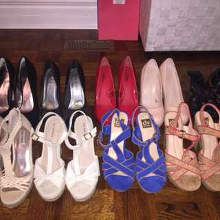 SELLING SHOES IN ALL STYLE- SIZE 10