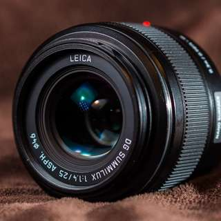 Leica 25mm 1.4 for m4/3