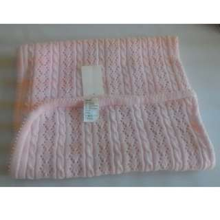 [H&M] Baby Blanket Pink Colour
