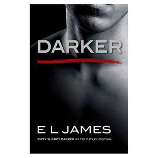 Darker: Fifty Shades Darker as Told by Christian (Fifty Shades of Grey Series) BY E L James