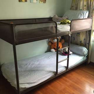 *VALUE DEAL!* IKEA Bunk Bed for Sale! Mattresses provided!