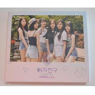 Gfriend 5th mini album PARALLEL (Love ver.)