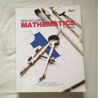 Sec 1 Shinglee Math Textbook