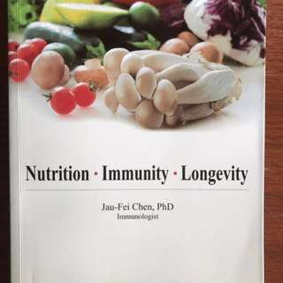 Longevity book by Jau-Fei Chen