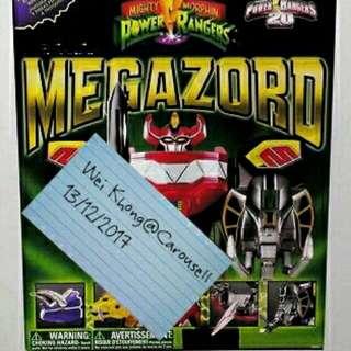 Power Rangers Legacy Megazord 20th Anniversary