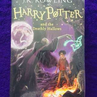 Harry Potter Deathly Hallows(New & plastic intact)