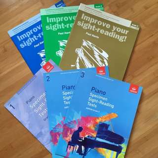 Piano sight reading books