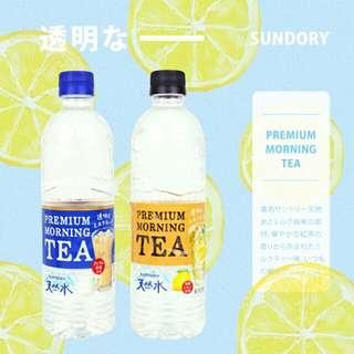 日本 SUNTORY 透明奶茶 神奇奶茶 550ml
