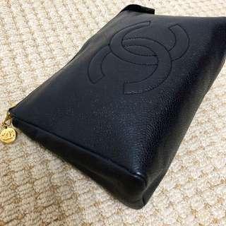 Chanel Vintage 魚子醬 Clutch Bag
