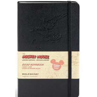 Moleskine Mickey Mouse Large Plain Limited Edition Notebook