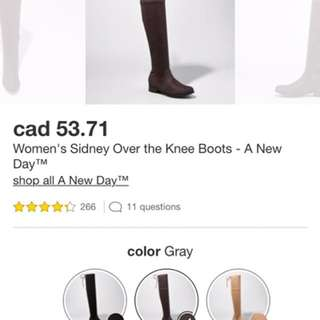 Sydney Over The Knee Boots-New in Box!