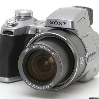 Sony cybershot H1 camera (dsc h1)