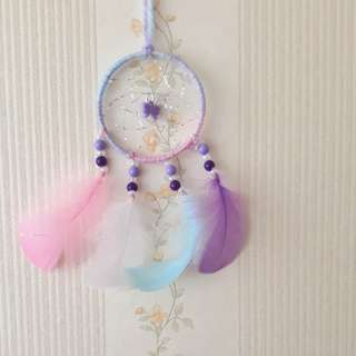 Galaxy Ribbon Dreamcatcher