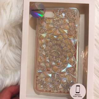 Holographic Geometric Phone Case