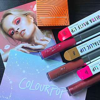 Colourpop Lip Collection