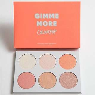 🔥INSTOCK🔥 Colourpop Gimme More Palette