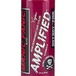 Manic panic brand new hot hot pink
