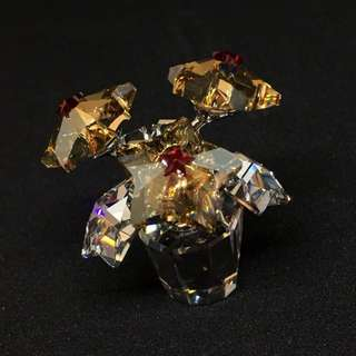 Swarovski 水晶 花 擺設 | 正貨 | 全新