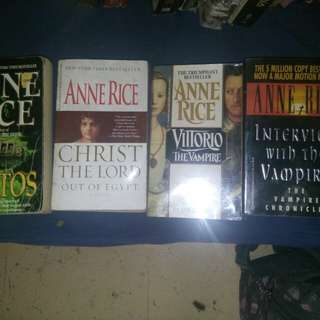 Anne Rice Novels