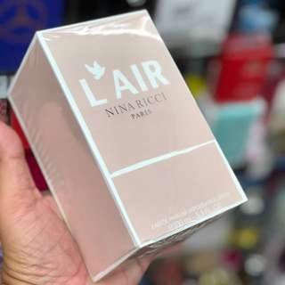 Authentic Nina Ricci L'Air EDP Perfume 100ml Limited Stock First Come First Served 😎👍
