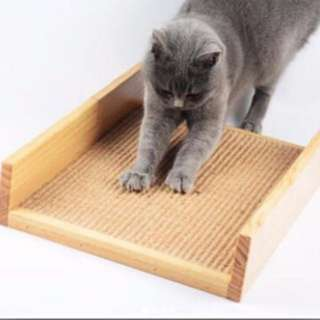 $40 only! Wood Scratch Bed Pad
