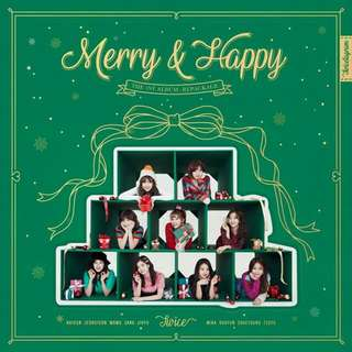 [Incoming Ready Stock] Twice Merry & Happy