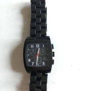 Alfex 黑鋼手錶