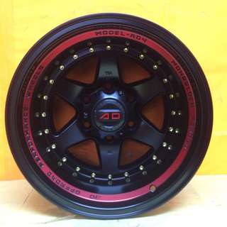16 inch SPORT RIM 4x4 AD-4 BRAND RACING WHEELS