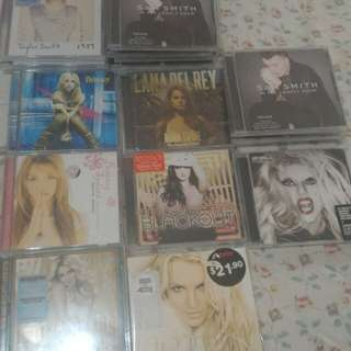 New and old Cd
