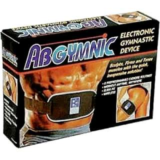 AbGymnic is an Electrical Muscle Stimulation (EMS) Device that provides Electronic Pulsating Signals to your Muscles to Flex. Leading to Firmer, Tighter and more Defined Abs, Legs, Arms NEW