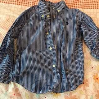 Euc authentic polo Ralph Lauren boy shirt 2T