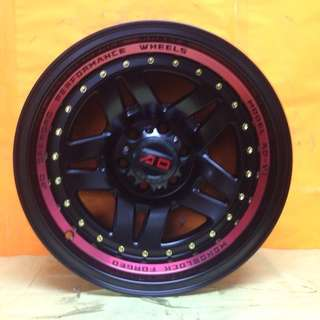 16 inch SPORT RIM 4x4 AD1 RACING WHEEL FOR NAVARA