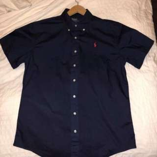 Short Sleeve Ralph Lauren button up