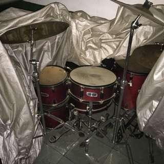 Drum mapex vx series plus cymbal planet z