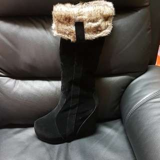 Brand New Black Winter Boots