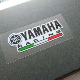 Yamaha Racing Decal Sticker Motorbike Reflective