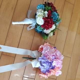 婚後物資 pre wedding花球
