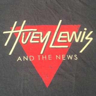 tshirt band HUEY LEWIS AND THE NEWS