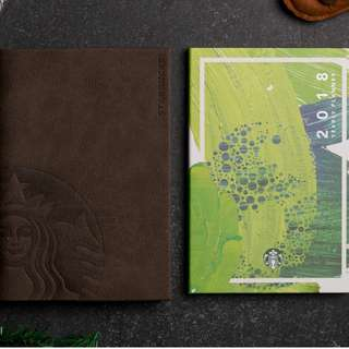 Limited Edition 2018 Starbucks Planner with FREE Limited Edition Kape Vinta Starbucks Card