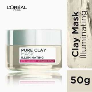 L'Oreal Paris Clay Mask - Illuminating