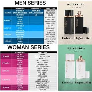 De'Xandra New Perfumes