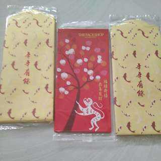 The face shop red packet