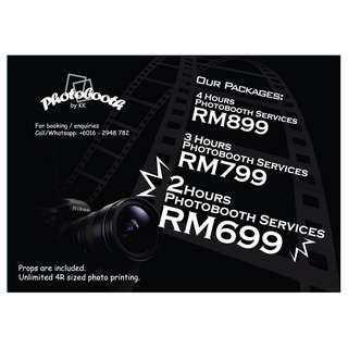 Save up to 35% on 2 | 3 | 4 Hour Photobooth Services with Photobooth KK